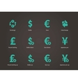 Exchange Rate icons vector image