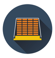Icon of construction pallet vector image