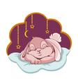 sleeping Bunny vector image