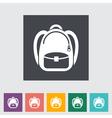 Schoolbag vector image