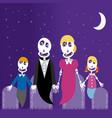 family of eskeleton vector image