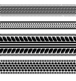 imprints tires vector image