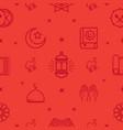 ramadhan kareem pattern vector image