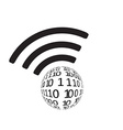 Wifi icon app vector image