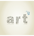 art2 vector image vector image