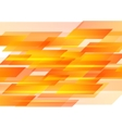 Hi-tech orange shapes abstract background vector image vector image