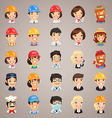 professions icons set1 3 vector image