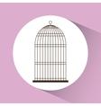 Birdcages icon Decoration object vintage concept vector image
