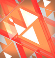Background abstrac orange vector image