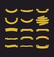 big set of ribbons vector image
