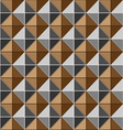 Two tone metalic studs seamless texture vector image