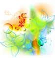 spring summer floral mix vector image