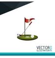 golf club design vector image