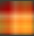 glowing rounded square pattern seamless vector image