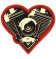 motorheart vector image