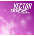 background light abstract pink vector image