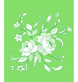 beautiful flowers vector image vector image