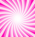 Pink Background - Spiral - Star Shape Pattern vector image