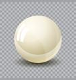 realistic ball vector image