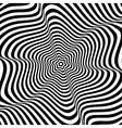 wavy rotation movement vector image vector image