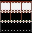 photographic film vector image