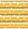 stars gold background cartoon white wave vector image