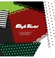 creative crafts background vector image