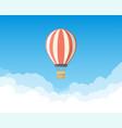 air balloon in the sky vector image