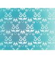 Blue Background with Lace vector image