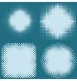 dot halftone screen vector image
