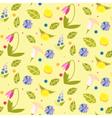 Flowerpattern vector image