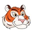 Tiger head 2 vector image