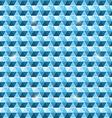 Beautiful seamless hexagon pattern background vector image