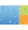 Color drops vector image