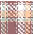 seamless textured tartan plaid pattern vector image vector image