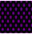 Purple Black Water Drops Background vector image