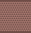 chocolate heart design pattern background vector image
