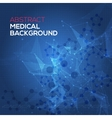 Medical abstract background Abstract polygonal vector image