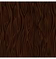 Wood texture background - dark brown vector image