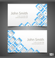 flat phone screen calling card vector image