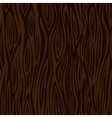 Wood texture background - dark brown vector image