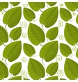 Leaf and leaves ecology graphic vector image