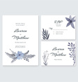 Wedding Cards Collection vector image