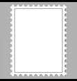 postage stamp vector image