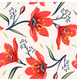 Floral seamless pattern 5 vector image vector image