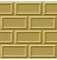seamless wall with rusticated blocks vector image vector image