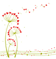 Abstract springtime love vector