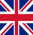 Union Jack the United Kingdom flag vector image
