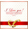 abstract wedding background for design vector image vector image