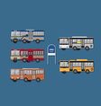Thai Bus vector image
